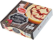 Торт чизкейк малиновый замороженный 850г