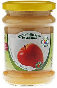 Пюре яблочное с молочным вкусом 260г