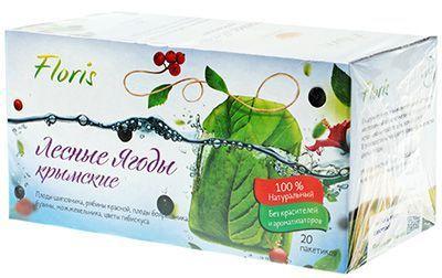 Фиточай Лесные ягоды в пакетиках 40г