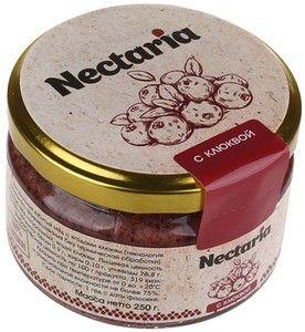 Мед натуральный взбитый с ягодами клюквы 250г