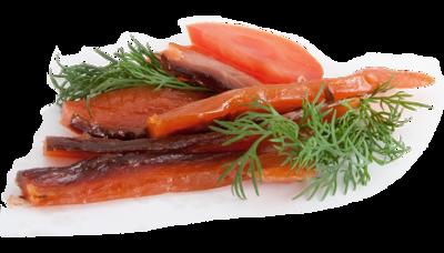 Палочки лососевые подкопченные 40г
