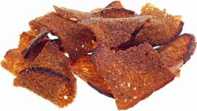 Хлебные чипсы ржаные с чесноком 50г