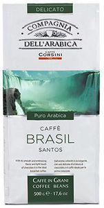 Кофе DELL'ARABICA Бразилия 500г