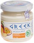 Йогурт Греческий Персик-маракуйя 165г