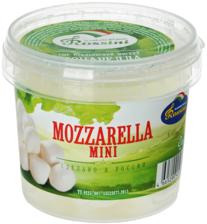 Сыр Моцарелла мини 45% жир., 125г