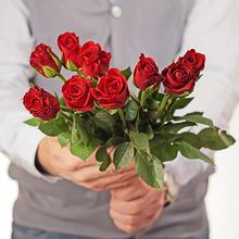 Роза мини красная 30см упаковка 10шт