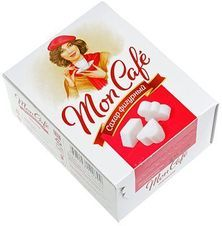 Сахар белый кусковой фигурный Mon Cafe 500г