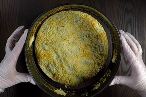 Выпекать в разогретой до 180-200С духовке до золотистого цвета, примерно 15-20 минут