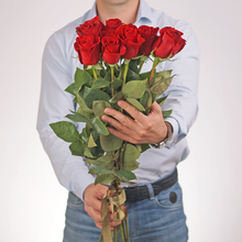Роза красная Фридом 80см 1шт