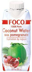 Кокосовая вода со вкусом граната 330мл