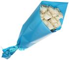Пленка для упаковки цветов Ярко-синяя