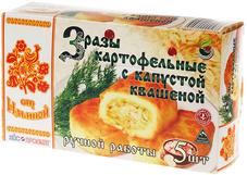 Зразы картофельные с квашеной капустой 500г