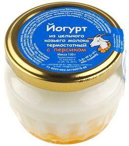Йогурт с персиком из козьего молока 130г