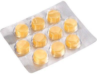 Леденцы с лимоном и медом без сахара