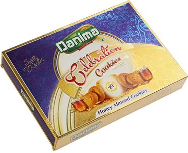 Печенье индийское медовое с миндалем 300г