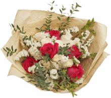 Букет №14 Розы Пинк Флойд и Гратено Тембо