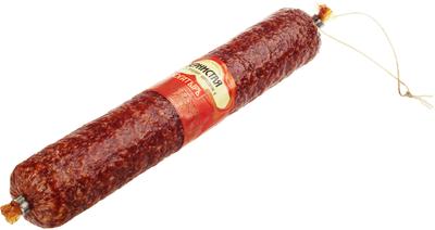 Колбаса сырокопченая Зернистая ~400г