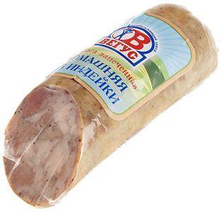 Колбаса Домашняя запеченная из индейки ~ 300г