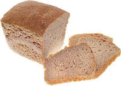 Хлеб ржаной бездрожжевой 350г