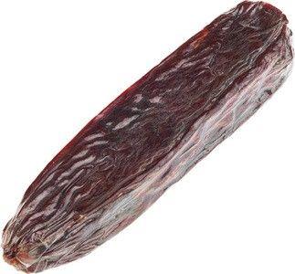 Колбаса из косули сырокопченая с перчиком 260г