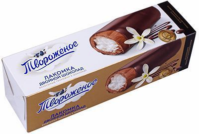 Творожок воздушный Лакомка в шоколаде 15% жир., 55г