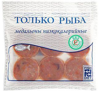 Медальоны рыбные с морковью 300г