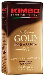 Кофе KIMBO Арома Голд брикет 250г