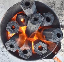 Уголь древесный Камадо 4,7кг