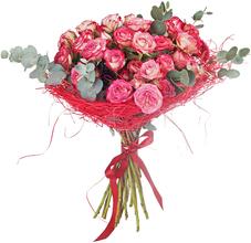 Букет №58 Роза Сафина 15шт