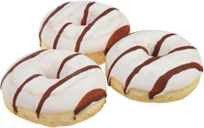 Пончики донатс шоколадно-ореховые 408г
