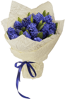 Букет №12 Гиацинты синие 15шт