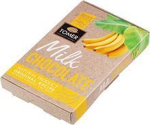 Шоколад молочный с бананом 90г