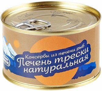 Печень трески 185г