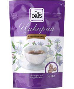 Цикорий с ароматом Кофе растворимый натуральный 100г