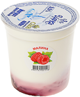 Йогурт малина 3,5% жир., 400г