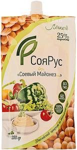 Соус майонезный соевый легкий 25% жир., 250г