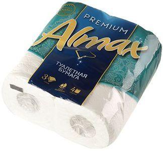 Туалетная бумага ALMAX Premium Collection