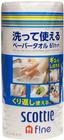 Бумажные полотенца многоразовые Crecia Scottie 61лист