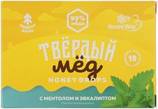 Твердый мед с ментолом и эвкалиптом 30г