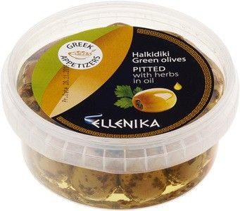 Оливки без косточки с травами 250г
