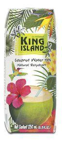 Кокосовая вода KING ISLAND 250мл