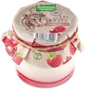 Йогурт термостатный клюква-малина 2,5% жир., 165г