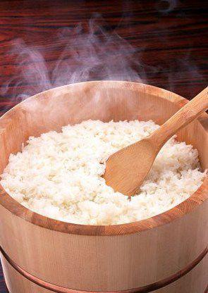 Рис для суши с соусом