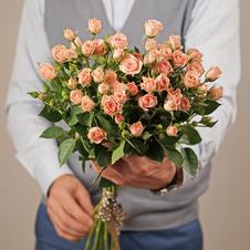 Роза кустовая Лидия 40см 1шт