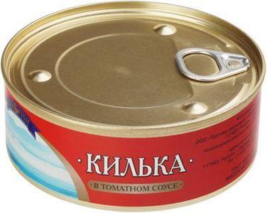 Килька в томатном соусе 240г