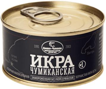 Икра кеты Чумиканской замороженная 140г
