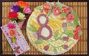 Торт для любимых женщин