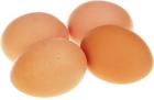 Яйца деревенские куриные коричневые 10шт