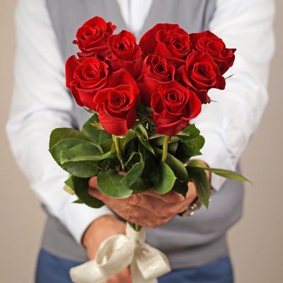 Роза красная Фридом 50см 1шт