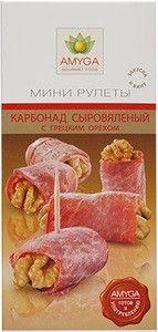 Карбонад сыровяленый с грецким орехом 80г